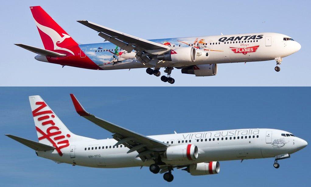 Virgin Australia & Qantas